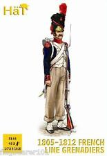 HAT 8166 NAPOLEONIC FRENCH LINE GRENADIERS 1805-12. 1/72 SCALE PLASTIC FIGURES