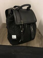 MACKAGE Quilted Nylon & Leather Backpack Arrow Bag Charm BNWT $295 MSRP Dust cvr