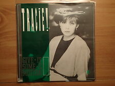 "Tracie-Give It Some Emotion-UK 7""PS-'83-Keeps On Burning KOB 704-NEW-Paul Weller"