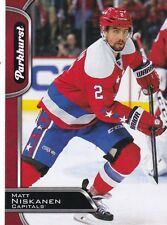 MATT NISKANEN 2016-17 16-17 UPPER DECK PARHURST RED PARALLEL #316 CAPITALS !