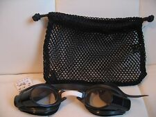 GUCCI BLACK SWIM GOGGLES NEW W/TAG & CARRY BAG 100% AUTHENTIC