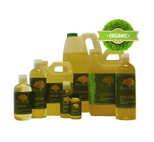 Liquid Gold Castor Oil Pure & Organic for For Skin Hair and Health 64 oz