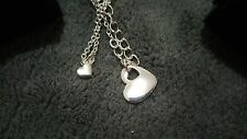 Two Hearts in One - Mother Daughter Necklace Set- 16.5in with 3.5in extender