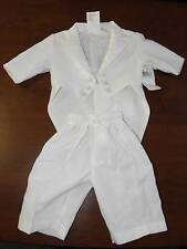 New Lauren Madison Baby Boy Christening Baptism Infant Tuxedo Suit 2 pc 9-12 mo.