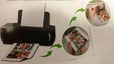 MAGNETIC INK JET PAPER. 10 PIECES FOR $7.00 WORKS WITH YOUR HOME PRINTER!!!