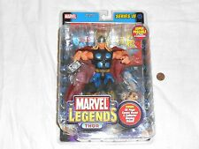 NEW Marvel Legends THOR Series III Super Poseable Action Figure Toy + Comic Book