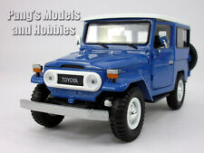 Toyota FJ40 Land Cruiser 1/24 Scale Diecast Metal Car Model - BLUE