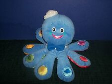 Baby Einstein Plush OCTOPUS Talking Toy COLORS English Spanish French