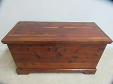 Antique Solid Cedar Trunk Hope chest Blanket box