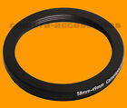 58mm to 49mm 58-49 Stepping Step Down Filter Ring Adapter 58-49mm 58mm-49mm