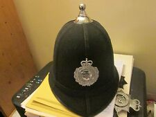 6 PANAL BALL TOP BOBBY HELMET WITH OBSOLETE DEVON CONSTABULARY BADGE