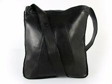 Authentic HERMES Todo Shoulder Bag Lambskin Black Pouch Good 35891