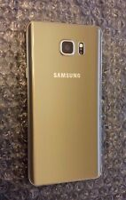 Excellent Gold Galaxy Note 5 AT&T GSM Unlocked 64GB Clean ESN - Bad LCD *