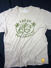Quiksilver Premium fit Field collection surf coconut men's T-shirt size XL