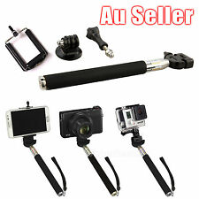 Extendable Monopod Handheld Selfie Stick for Camera iPhone GoPro Hero 1 2 3+ 4