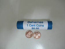 2014 Bahamas 1 cent coins (10 Coins)  (Coat of Arms & Starfish) -