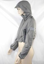 $595 Burberry Sport 10 Pack-A-Way Grey Hoodie Rain Coat Jacket Pouch Women Gift