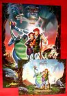 THE MAGIC SWORD: QUEST FOR CAMELOT + ADD 1998 F. DU CHAU RARE EXYU MOVIE POSTER