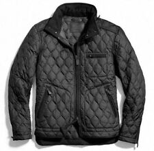 COACH BOWERY QUILTED RACER BLACK MEN'S JACKET SIZE L $448