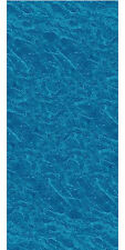 27' Ft Round Overlap Pacific Ice Above Ground Swimming Pool Liner-25 Gauge