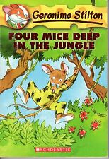 2004 Geronimo Stilton Four Mice Deep in the Jungle by Edizioni Piemme