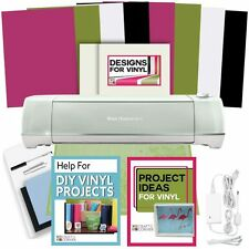 Cricut Explore Air 2 Machine Bundle Vinyl, Transfer Paper, Designs & Guide