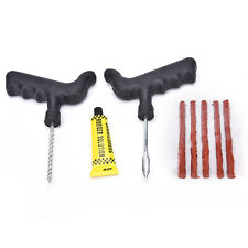 Car Bike Auto Tire Puncture Plug Repair Tool Kit For Tubeless Tyre Safety Strip