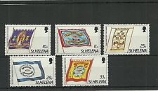 ST HELENA SG472-476-FRIENDLY SOCIETIES BANNERS -MNH