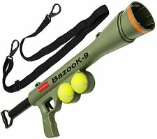 BazooK-9 Tennis Ball Launcher Gun, OXGORD, Green