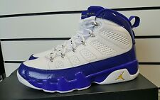 NEW Nike Air Jordan 9 Retro SZ 9 Kobe Bryant LA Lakers PE Purple Gold 302370-121