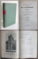 Gurlitt - Bau- und Kunstdenkmäler in Sachsen 1919, 40. Heft Meißen Burgberg - xz
