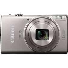 Canon IXUS 285 HS (Silver) with Wifi & NFC & 8GB Memory Card and Pouch (SMP3)