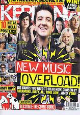 OF MICE & MEN / METALLICA / OLI SYKES Kerrang no. 1450 26 Jan 2013