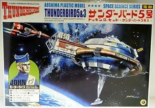 THUNDERBIRDS : THUNDERBIRD 5 & 3 AOSHIMA MODEL KIT