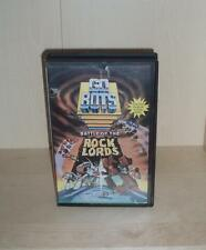 GOBOTS : WAR OF THE ROCK LORDS Anime 1986 Turkish Release Rental VHS RARE