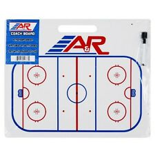 "NEW A&R Jumbo Hockey Dry Erase Coaches Board w Handle, Marker & Eraser 16""x22"""