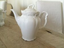 Small White Porcelain Coffee Tea Pot Child's Rosenthal ? Classic Rose