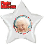 90TH BIRTHDAY PHOTO BALLOON Custom Printed Party Supplies