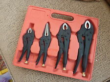 4 vice, grips, swan locking pliers engineers tools pump aircraft aviation mechs