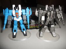Takara Transformers G1 SCF PVC Act 4 lot Thundercracker painted and pewter chase