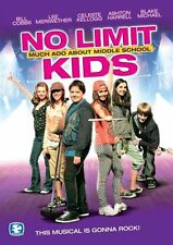 NO LIMIT KIDS MUCH ADO ABOUT MIDDLE SCHOOL NEW SEALED DVD DAVE MOODY FREE SHIPPI