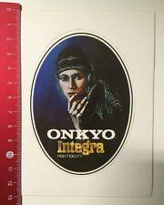 Autocollant/sticker: ONKYO INTEGRA-High Fidelity (050316159)