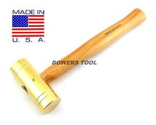Grace USA 32oz Brass Hammer BH-32 Gunsmith Gun Care Machinist MADE IN USA