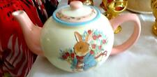 LARGE VINTAGE PETER RABBIT TEAPOT REAL CUTE GREAT ADD TO YOUR COLLECTION