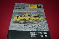 Caterpillar 966G Wheel Loader Dealer's Brochure DCPA6 ver