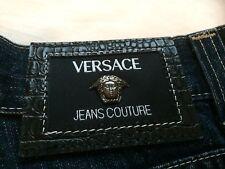 Nuevo-Versace Jeans (azul oscuro) - Talla W32 L34