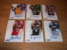(30) 2012-13 Basketball Contenders Auto Cards Lot + (10) Mix Auto & Jersey