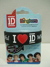 One Direction 1D What Makes You Beautiful Blingkers Light-Up Rubber Bracelet