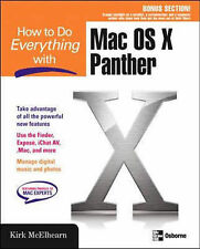 How to Do Everything with MAC OS X Panther, Kirk McElhearn