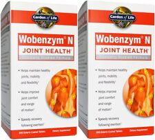 Garden of Life Wobenzym N 800 tabs (2 Pack)